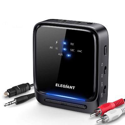 ELEGIANT Bluetooth 5.0 Audio Adapter mit Optischem Toslink/SPDIF für 17,99€ (statt 30€)