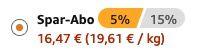 2 Dosen Extra Kaugummi Blueberry zuckerfrei (12x 50 Dragees) ab 16,47€   im Sparabo nur 1,37€ pro Dose