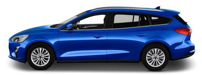 Gewerbe: Ford Focus 1,0 EcoBoost Hybrid Trend Turnier mit 125PS ab 125€ mtl netto   LF 0,8