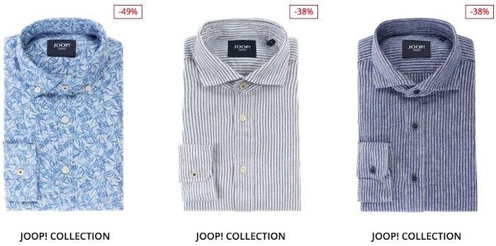 Reduzierte JOOP! Herren Hemden mit 30% Extra Rabatt   z.B. JOOP! Panko in Bleu für 41,99€ (statt 76€)