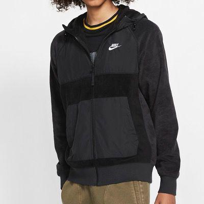 NIKE Sportswear Herren Fleece Hoodie mit Reißverschluss  für 30,35€ (statt 44€)