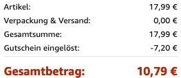 MeeQee Handbrause mit 2m Edelstahl Schlauch für 10,79€ (statt 18€)