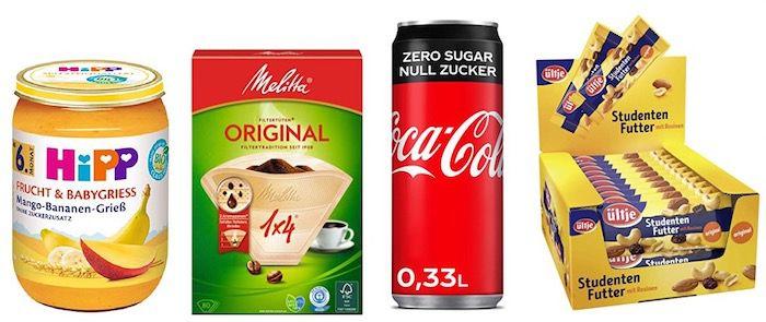 4 für 3 Lebensmittel Aktion bei Amazon   z.B. 24x HiPP Baby Grieß ab 16,16€ (statt 23€)