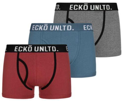 3er Pack Ecko Unltd. Herren Boxershorts (diverse Modelle und Farben) für 13,49€ (statt 20€)
