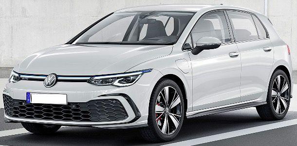 Gewerbe: VW Golf 8 GTE 1,4l eHybrid mit 245PS und DSG für 79€ mtl. netto   LF: 0,33