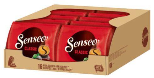 10er Pack Senseo Classic Pads (160 Pads!) für 16,58€