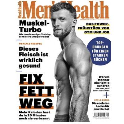 Jahresabo Mens Health für 58€ + 50€ BestChoice Gutschein