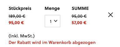 Fossil Chronograph Forrester FS5697 in 46mm aus schwarzem Edelstahl für 57€ (statt 116€)