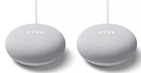 2er Pack Google Nest Mini Lautsprecher für 39€ (statt 72€)