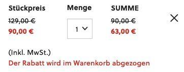 Fossil Edelstahl Herrenuhr FB 01 mit 3 Zeigern und Datum für 63€ (statt 114€)