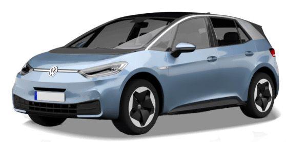 Privat: Volkswagen ID.3 Pure Performance mit 150PS für 167€ brutto mtl.   LF 0,56