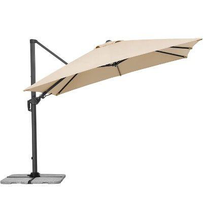 Schneider Rhodos Twist Sonnenschirm Natur 300x300cm für 279,99€ (statt 429€)
