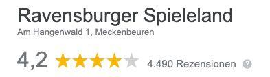 Tagesticket das für Ravensburger Spieleland für 27,90€ (statt 37€)