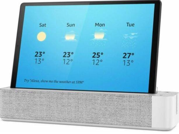 Lenovo M10   10 Zoll Alexa Smart Tablet Android 32/2GB + LTE für 114,30€ (statt neu 130€)