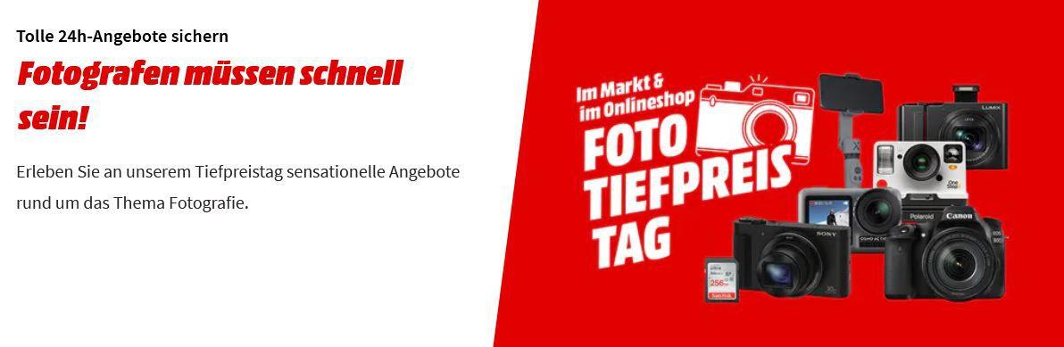 Media Markt Foto Tiefpreis Tag: z.B. SONY Alpha 6100 Doublezoom Kit ab 866,35€ (statt 969€)