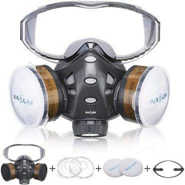 NASUM wiederverwendbare Halbmaske der Serie 8200 mit Filter für 18,19€ (statt 28€)