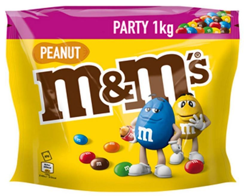 M&Ms 4 x Party Pack  (4 x 1 kg) ab 21,95€ (statt 37€)