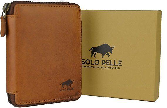 Solo Pelle Damen Leder Geldbörse für 29,90€ (statt 45€)