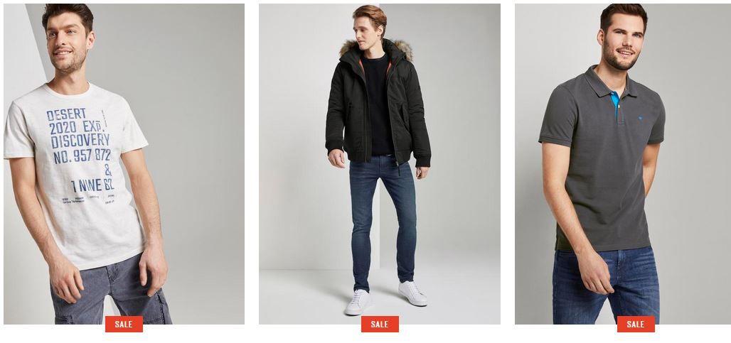 Tom Tailor Staffelrabatt bis 30€   auf Alles auch im 50% Sale