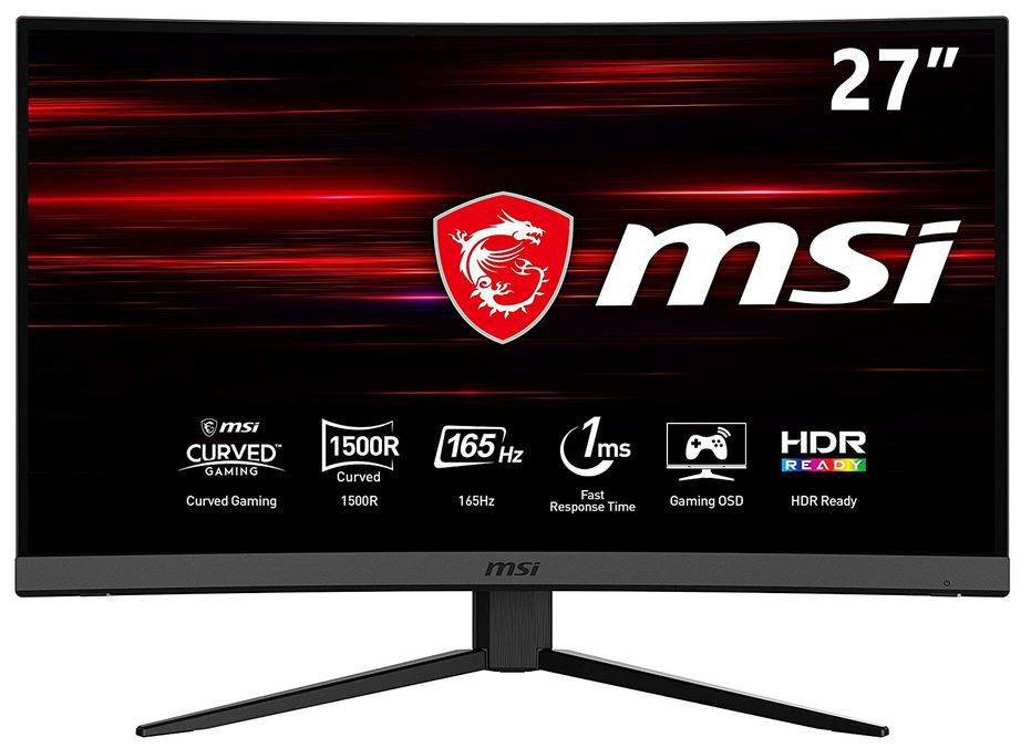 MSI MAG272C Full HD curved Monitor 165Hz für 259€ (statt 345€)