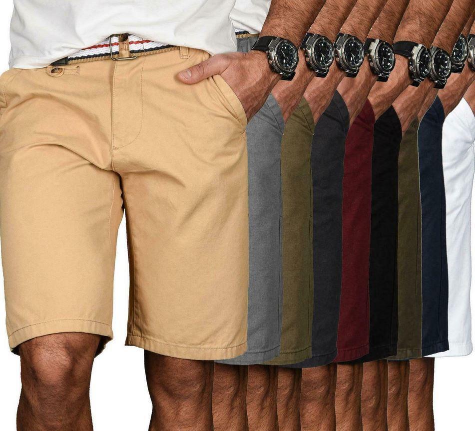 A. SALVARINI AS 096 Herren Shorts mit Gürtel für 22,90€ (statt 29€)
