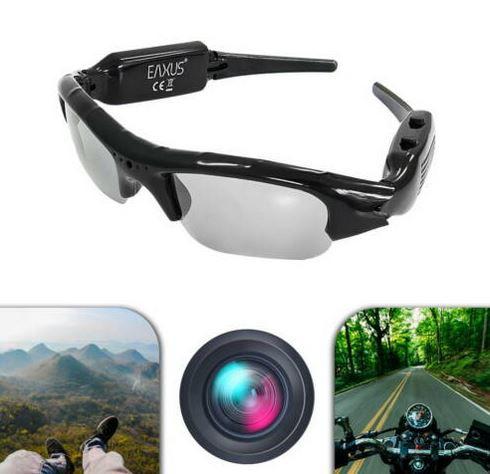 Eaxus VGA Action Brille mit eingebauter Kamera für 14,99€ (statt 20€)