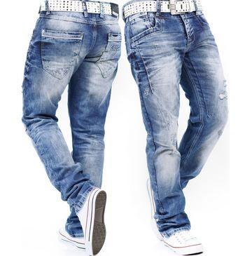 Cipo & Baxx Herren Destroyed Jeans für je 59,90€ (statt 68€)