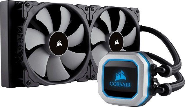 Corsair H115i PRO 280 mm Radiator Wasserkühler RGB Beleuchtung für 88€ (statt 124€)