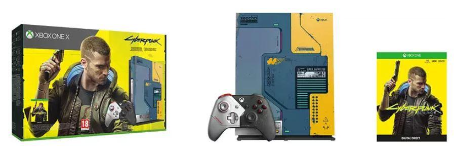 Xbox One X 1TB – Cyberpunk 2077 Limited Edition für 379,91€ (statt 395€)