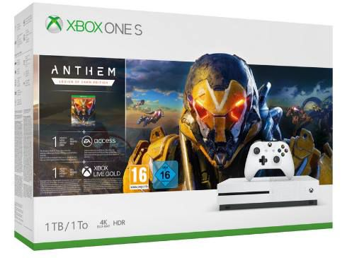 Xbox One S 1TB   Anthem Legion of Dawn Bundle ab 193,03€ (statt 277€)