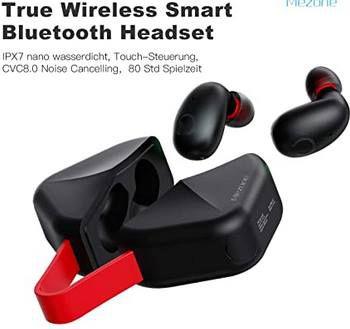MEZONE TWS B6 aptX BT 5.0 TWS In Ear Kopfhörer für 25,99€ (statt 56€)