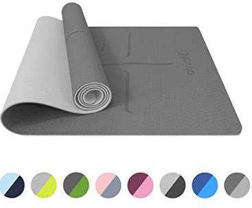 Vorbei! Ativafit TPE Yogamatte (183x64x0.6cm) in vielen Farben ab 12€ (statt 30€)