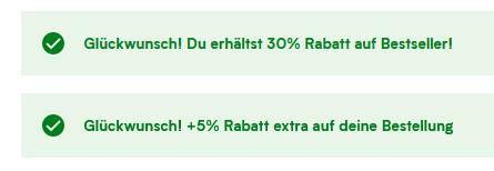 MyProtein: 60% im Sale + 30% Rabatt auf Bestseller keine VSK ab 50€