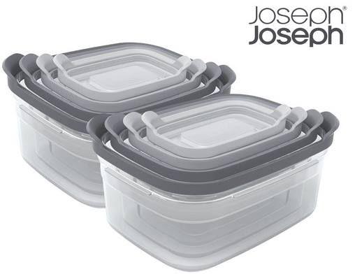 2er Pack: Joseph Joseph Behälterset Nest 4tlg mit Deckel für 30,90€ (statt 52€)