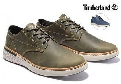 Timberland Crossmark Oxford Schuhe aus Vollnarbenleder für 55,90€ (statt 90€)