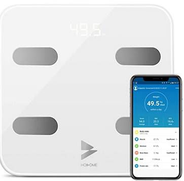 Yuanguo digitale Körperfettwaage mit App Anbindung mit 17 Körperdaten für 17,99€ (statt 30€)