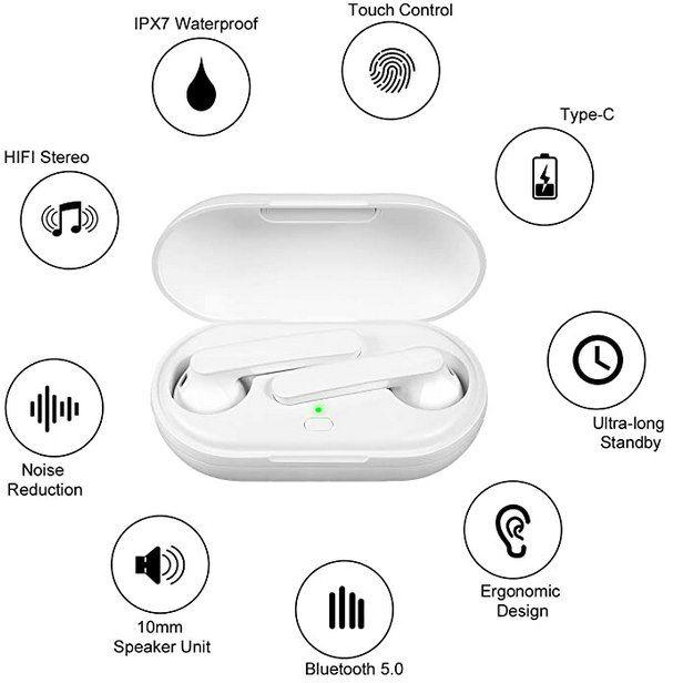 Orangeck T15 BT 5.0 TWS InEar Kopfhörer mit CVC 8.0 für 14,99€ (statt 30€)