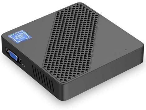 Mini PC mit Intel Celeron N3350, 4GB RAM & 64GB eMMC + Windows 10 Pro für 100,40€ (statt 130€)