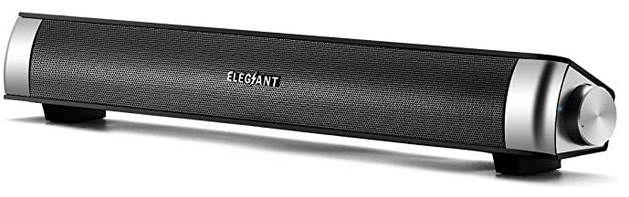 ELEGIANT SR100   kleine Soundbar für Laptop & PC für 19,49€ (statt 30€)