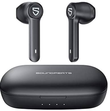 SoundPEATS Truebuds BT 5.0 InEar Kopfhörer mit bis zu 70h Spielzeit für 29,99€ (statt 50€)