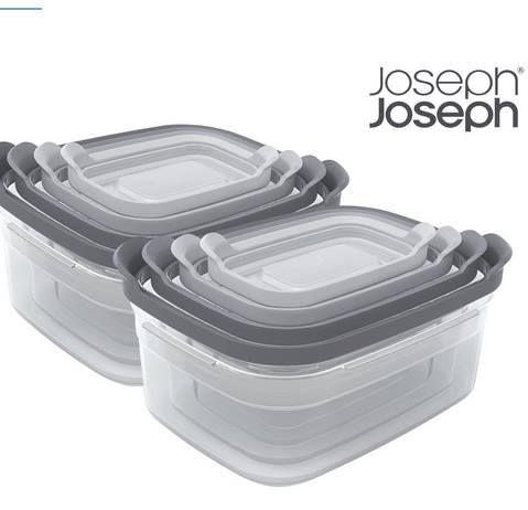 """2er Pack: Joseph Joseph Behälterset """"Nest"""" 4tlg mit Deckel für 33,90€ (statt 58€)"""