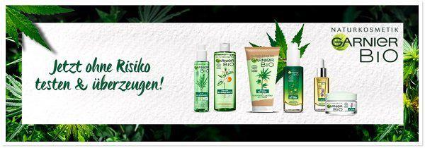 Garnier Bio Produkt kostenlos ausprobieren