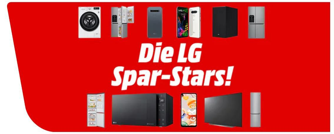 Media Markt & Saturn LG Spar Aktion: z.B. LG CM2460DAB Micro Hifi Anlage ab 98,20€ (statt 122€)