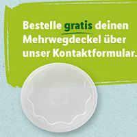 Gratis: Mehrwegdeckel für Jogurt bei Lidl bestellen