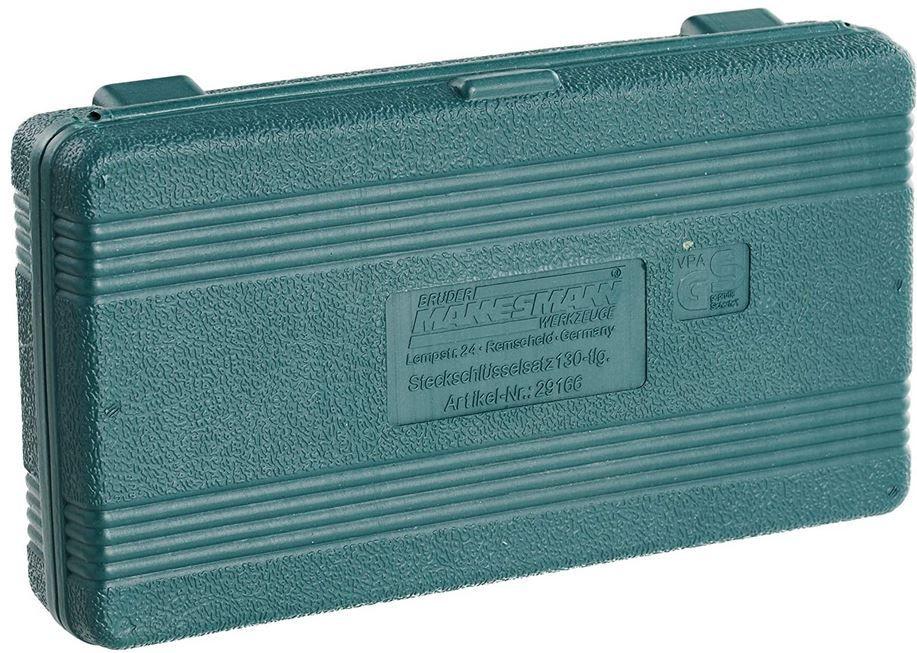 Brüder Mannesmann M29166 Steckschlüssel und Bitsatz 130 Teile für 15,99€ (statt 20€)   Amazon Prime