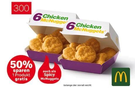 Abgelaufen! McDonalds Fehler: 432x Spicy Chicken McNuggets mit 72 Saucen für 0,30€ (statt 169,20)