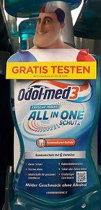 Odol med3 Mundspülung gratis ausprobieren