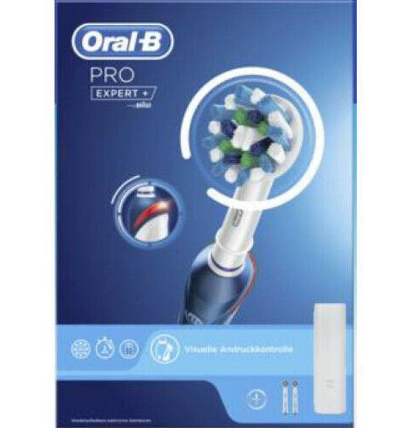 ORAL B Pro 2000 N Expert eZahnbürste + Reiseetui + 2 X Cross Action Bürsten für 39,72€ (statt 68€)   eBayPlus 35,75€