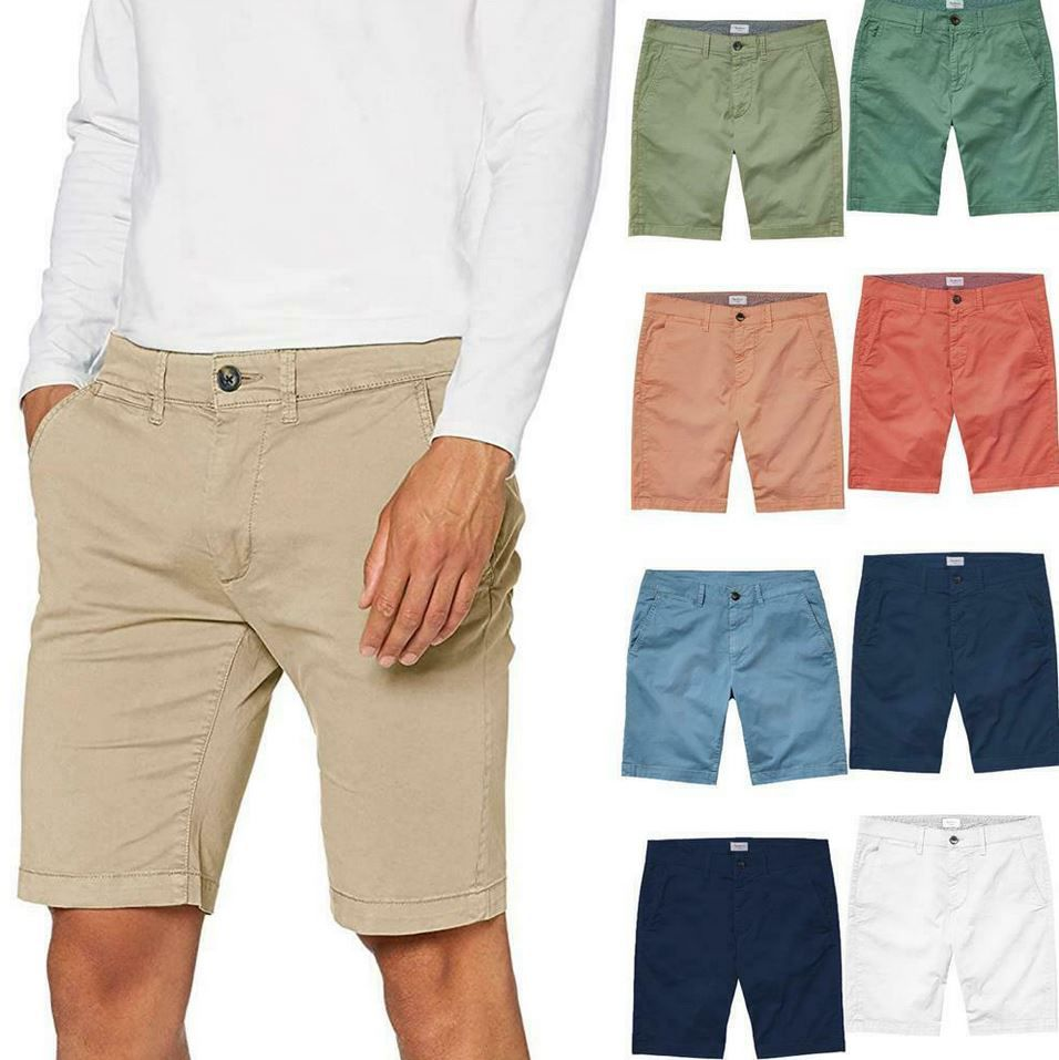 Pepe Jeans Mc Queen Herren Regular Chino Shorts für 27,99€ (statt 32€)