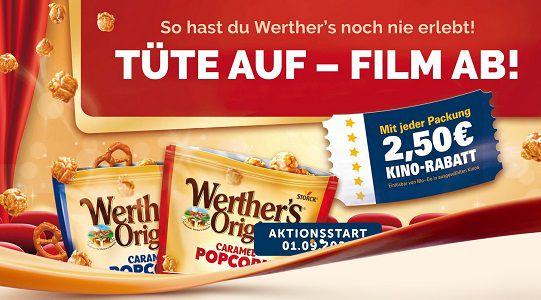Mit Werther's Original Caramel Popcorn Kinogutschein erhalten